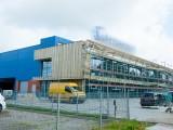 Didmeninės prekybos paskirties pastato statyba Baltijos pr. 8B, Klaipėdoje