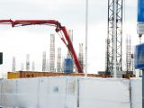 """Verslo centro """"Eleven"""" Kareivių g. 11A, Vilniuje, statyba"""